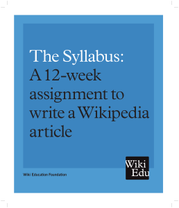 The Syllabus PDF