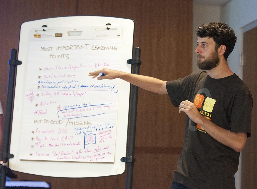 Matt presenting