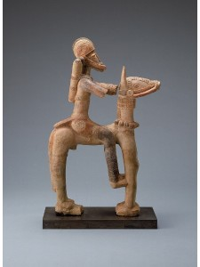 """Djenne Terracotta Equestrian (13th-15th cent)"" by Franko Khoury - http://africa.si.edu/exhibits/resources/mali/works.htm. Licensed under Public Domain via Wikimedia Commons - https://commons.wikimedia.org/wiki/File:Djenne_Terracotta_Equestrian_(13th-15th_cent).jpg#mediaviewer/File:Djenne_Terracotta_Equestrian_(13th-15th_cent).jpg"