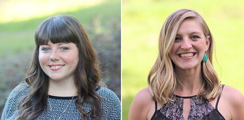 Educational Partnerships Manager, Jami Mathewson, and Outreach Manager, Samantha Erickson