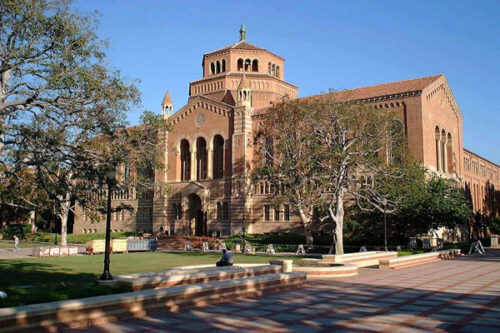 Photo of Powell Library at UCLA