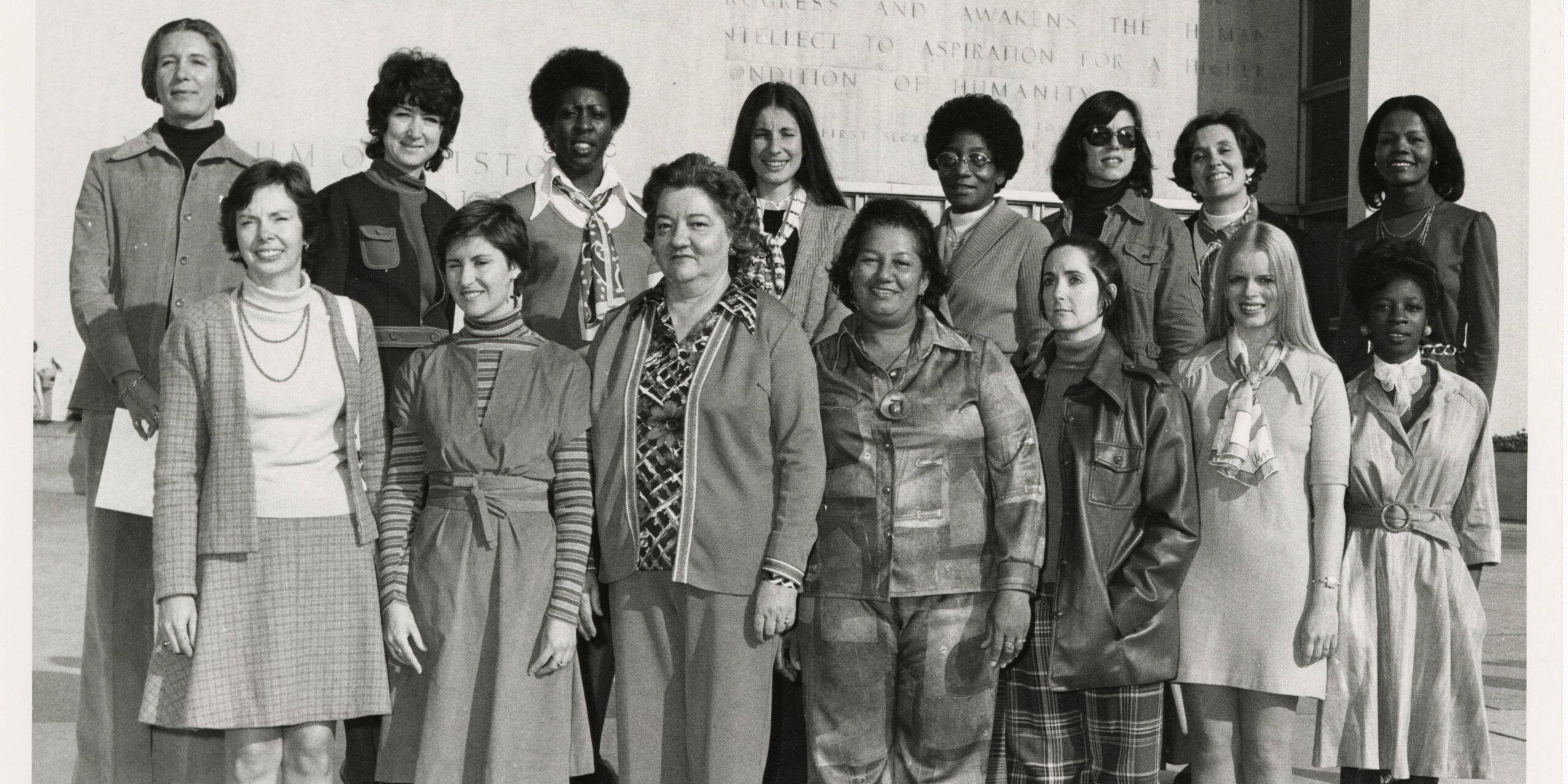Group Portrait of Smithsonian Women's Council