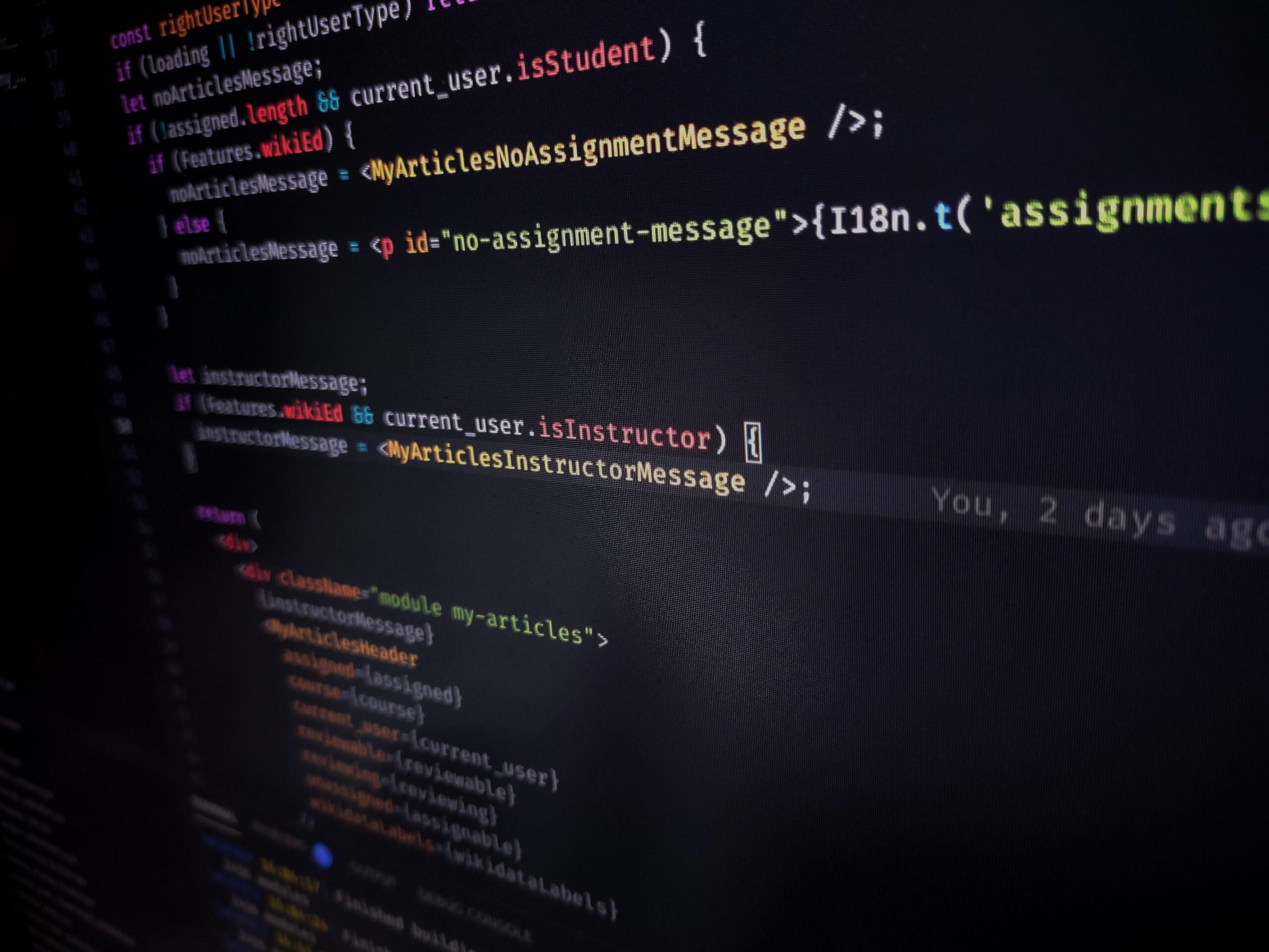 Dashboard JavaScript code