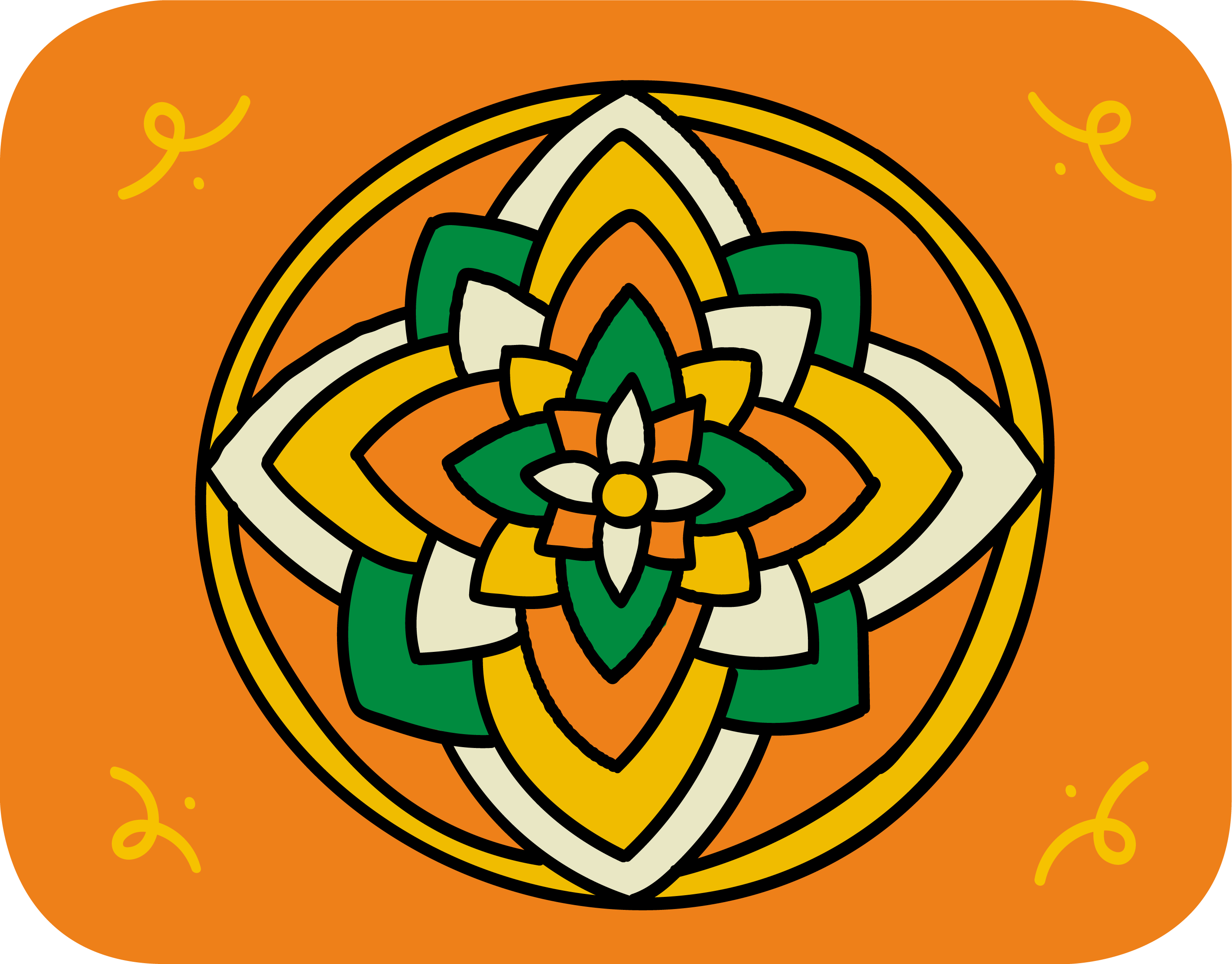 Rangoli symbol for Wikipedia 20