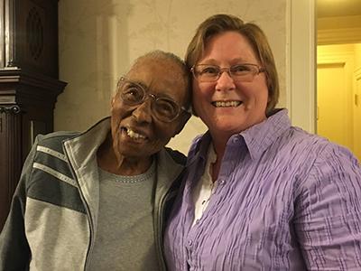 Edith Renfrow Smith and Monique Shore